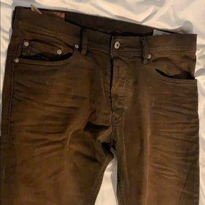 Diesel thavar brown jeans